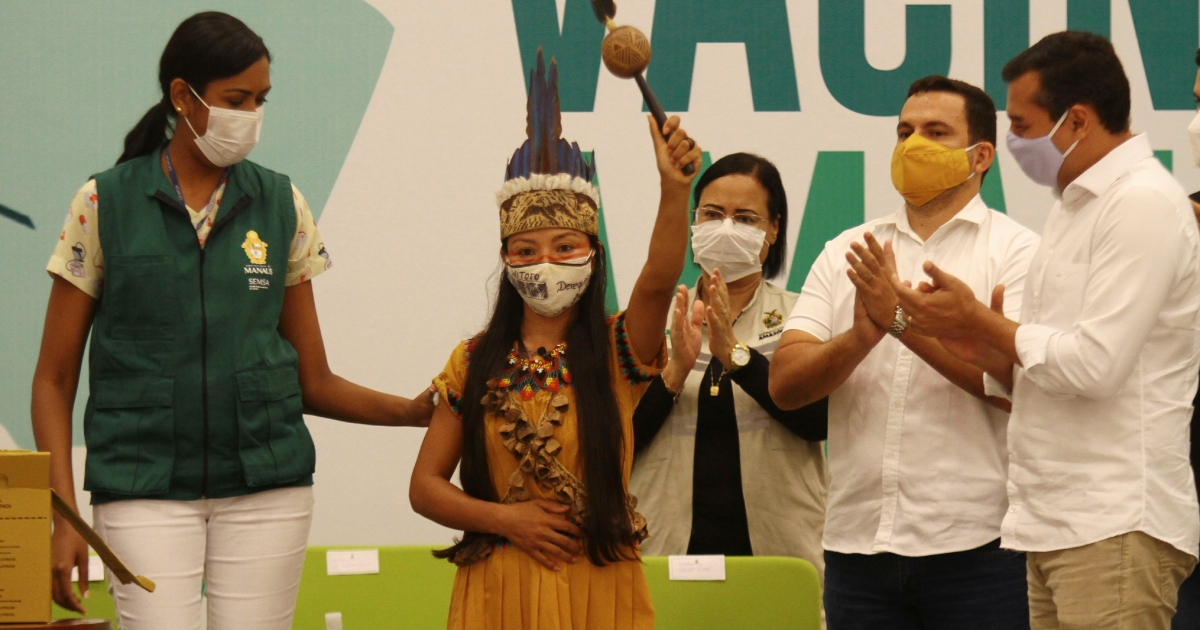COVID vaccinations begin in Brazil's hard-hit Amazonas state
