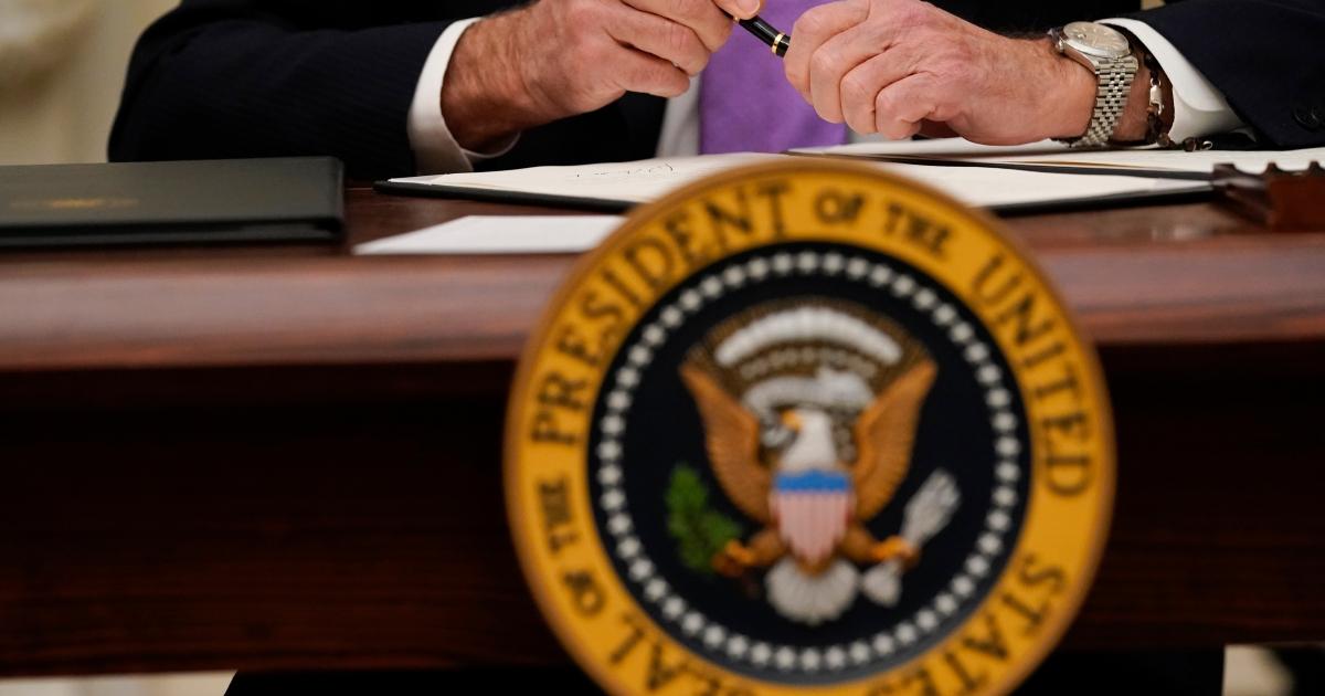 Biden to order stopgap aid while Congress considers big stimulus - aljazeera