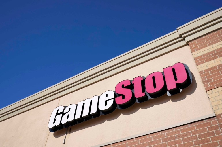 George Sherman's move to step down as CEO comes as Ryan Cohen, co-founder and former CEO of online pet food company Chewy Inc, tightens his grip on GameStop after taking over as chairman earlier this month [File: Charlie Neibergall/AP]