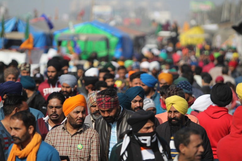 How volunteers in Punjab are keeping Indian farmers protest alive   India News