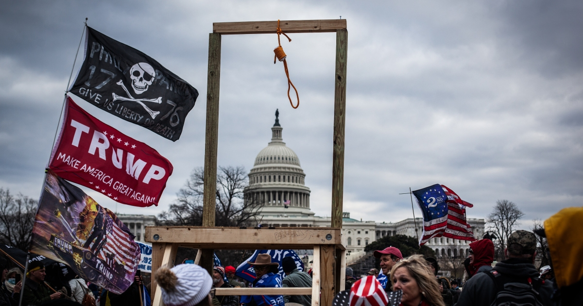 Trump's impeachment for 'incitement of rebel' defined