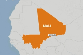 Witnesses say 20 killed in air strike in central Mali