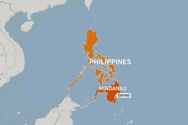 Strong earthquake rattles southern Philippines