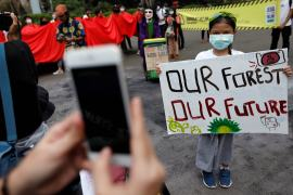 Young people under the age of 18 are more likely than any other age group to say climate change is an emergency, a new survey from the United Nations Development Programme has found [File: Willy Kurniawan/Reuters]