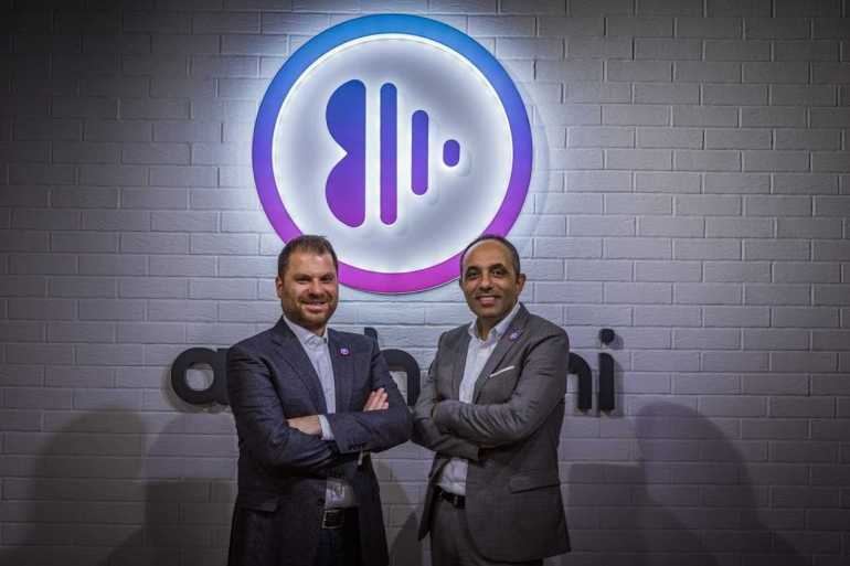 Anghami cofounders Eddy Maroun (left) and Elie Habib (right) [Courtesy: Anghami]