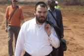Through a spokesperson, Dan Gertler, pictured at the Mutanda copper and cobalt mine in the Democratic Republic of the Congo, welcomed the move to reinstate his licence to do business while anti-graft campaigners urged President Biden's Treasury to revoke it [File: Bloomberg]