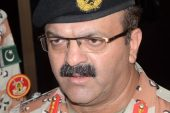 Lieutenant General Bilal Akbar retired from the military last month [File: Waqar Hussnain/EPA]