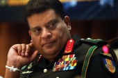 UN expressed concern at Sri Lanka elevating Lt General Shavendra Silva, in the picture, as army chief [EPA]