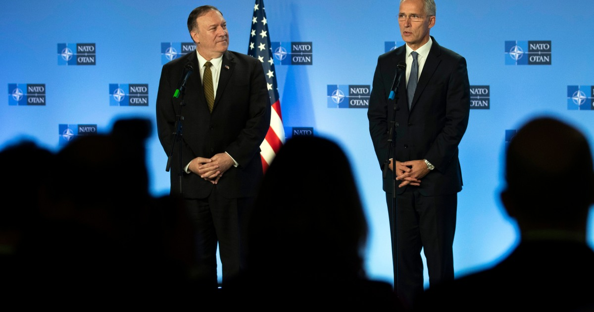 US's Pompeo to go to Brussels on Wednesday to fulfill NATO chief