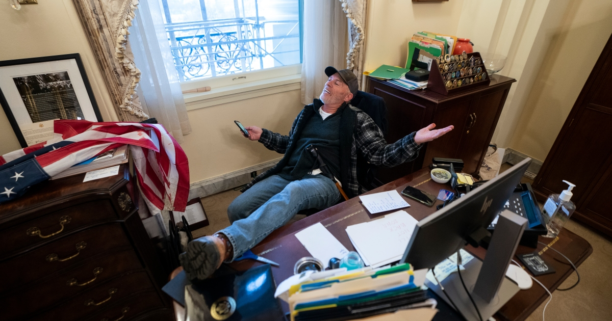 Desk During Us Capitol Riot Released, How To Put Feet On Furniture
