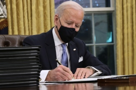 Biden signs executive orders reversing Trump policies