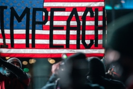 What is the effect of Donald Trump's second impeachment?