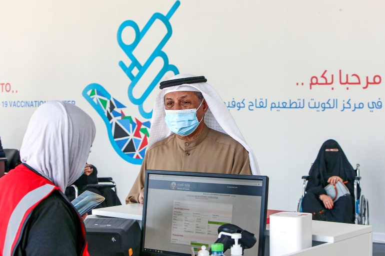 Kuwait has seen an increase in infections since January [Yasser al-Zayyat/AFP]