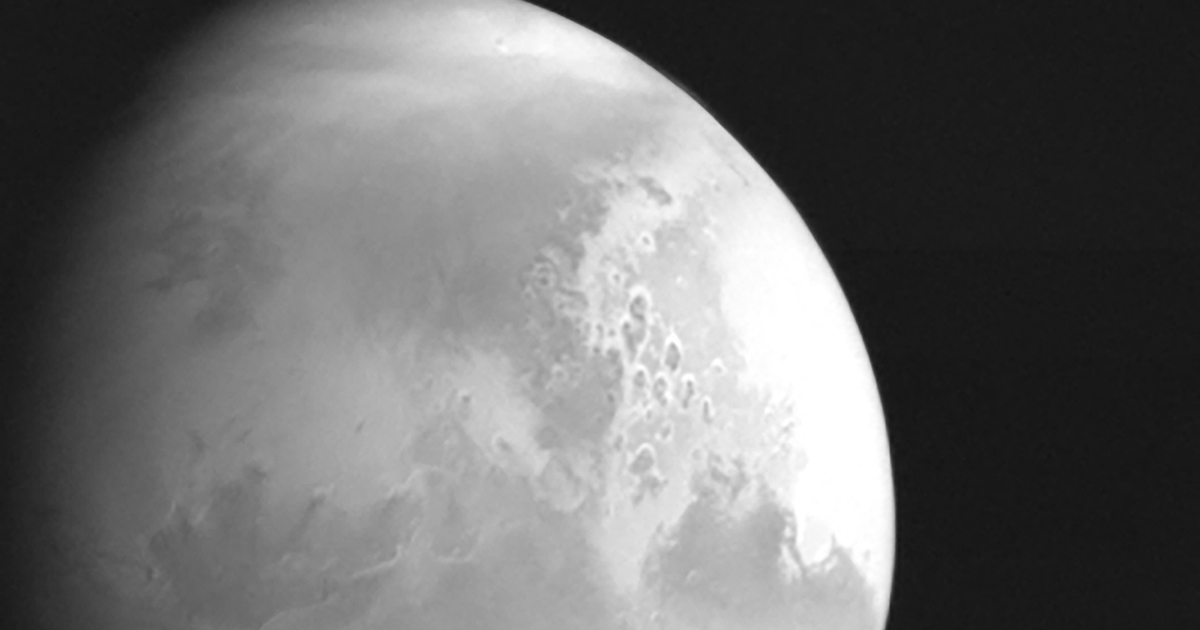 China spacecraft sends Mars footage for first time - Al Jazeera English