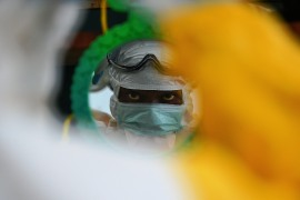 Guinea says it has the means to halt the resurgence of the disease [File: Carl De Souza/AFP]