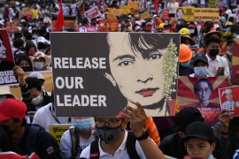 Ongoing street protests against the February 1 military coup in Myanmar have added to fears among foreign investors of a return to the instability of the country's pre-democracy era [Sai Aung Main/AFP]