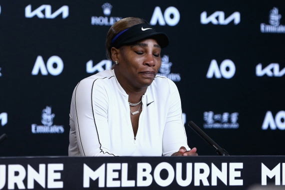 Williams had looked her sharpest in years at the tournament, but 24 unforced errors cost her against Naomi Osaka, who also beat her in the 2018 US Open final [Rob Prezioso/Tennis Australia via AFP]