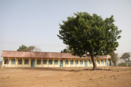 Classrooms at the school where gunmen kidnapped dozens of students and staffs in Kagara, Niger State, Nigeria [Kola Sulaimon/AFP]