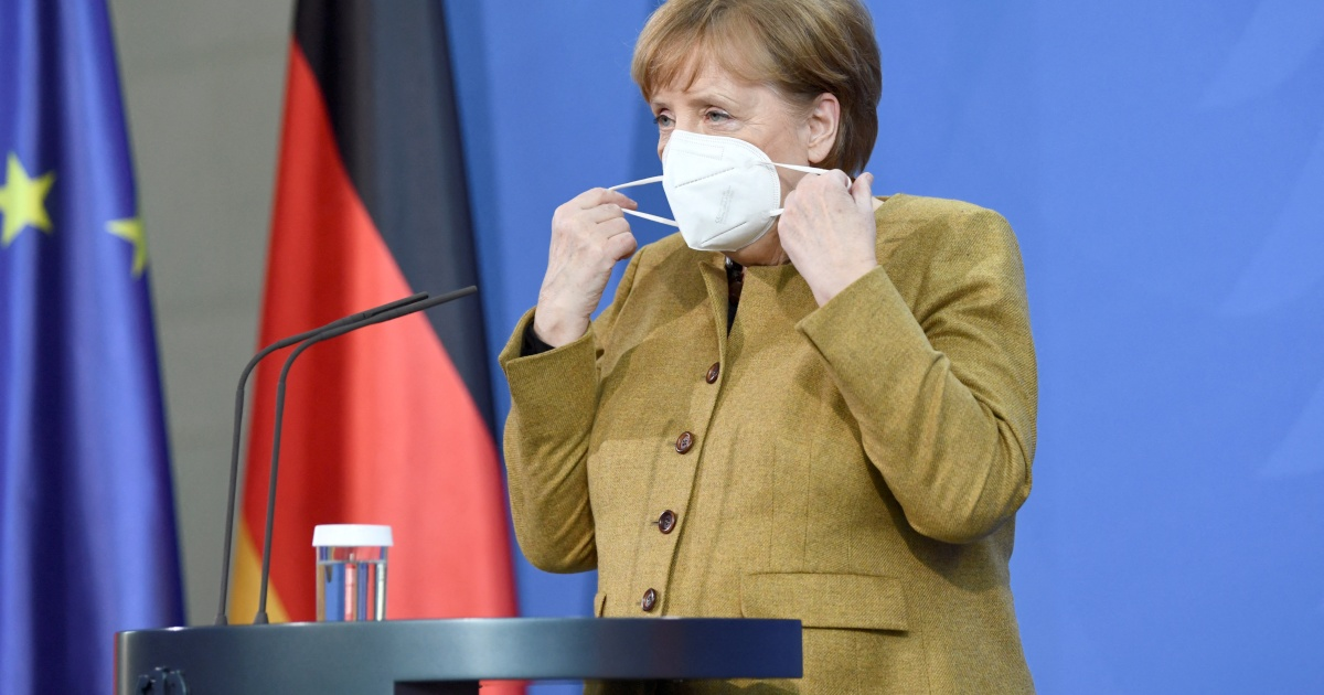 Angela Merkel receives Moderna dose after first AstraZeneca shot