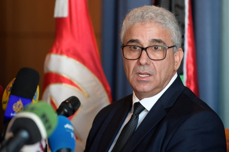 Bashagha has in recent months drawn the ire of several armed groups in Tripoli after announcing plans to demobilise militias and reintegrate them into the formal security apparatus [File: Fethi Belaid/AFP]
