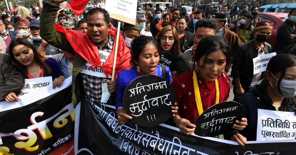 www.aljazeera.com: Nepal's Supreme Court orders reinstatement of Parliament
