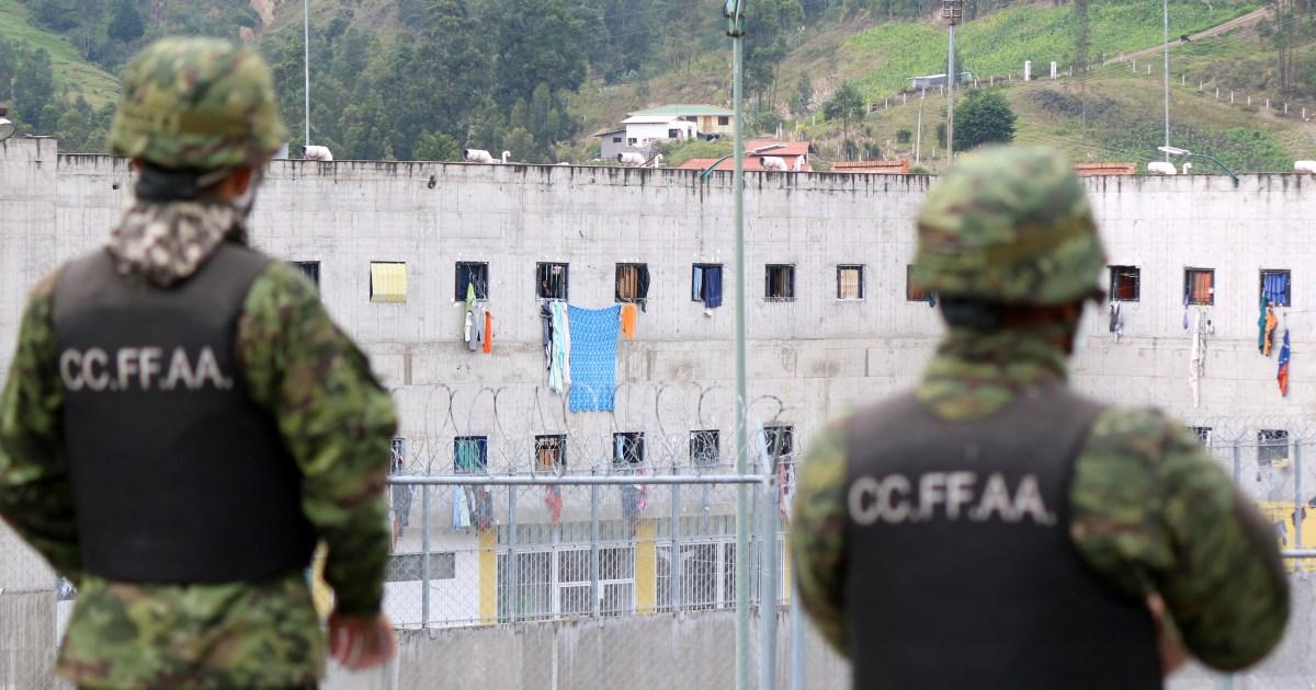 In Pictures: Ecuador prison riots leave dozens dead
