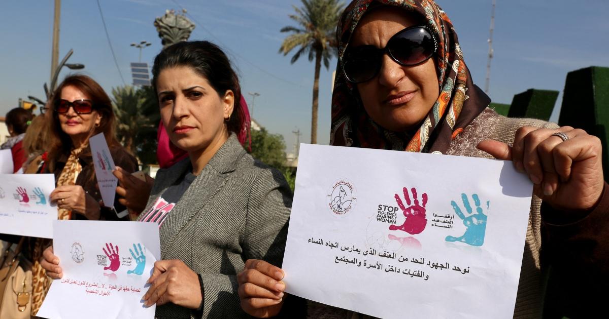 Wanita Irak berjuang untuk menghindari pelecehan ketika kekerasan dalam rumah tangga meningkat thumbnail