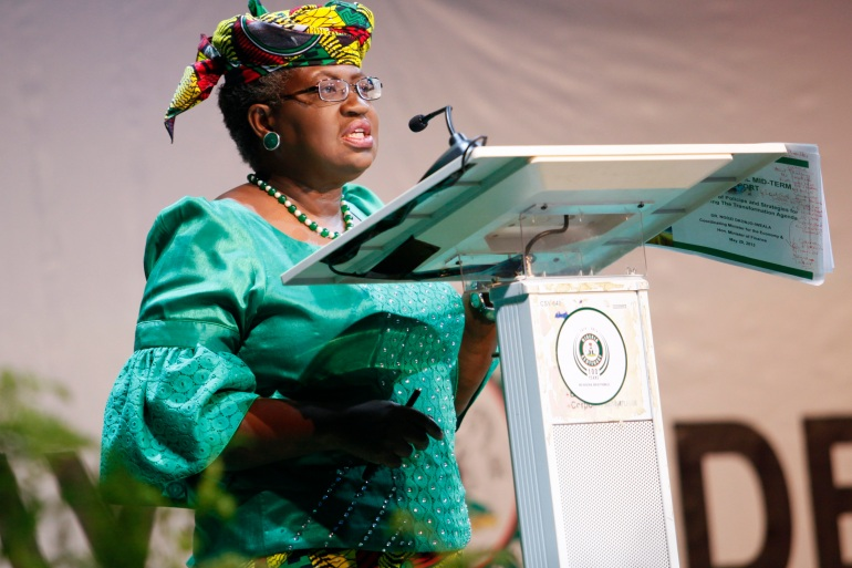 New World Trade Organization chief Ngozi Okonjo-Iweala says vaccine nationalism will 'not pay, because the variants are coming' [File: Afolabi Sotunde/Reuters]