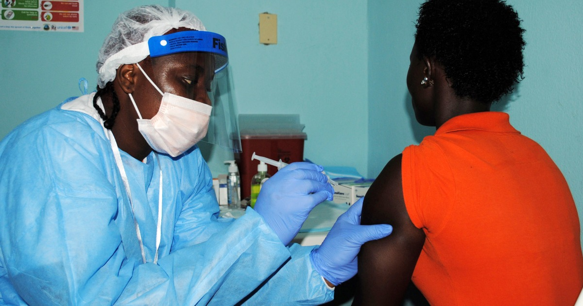 Guinea launches Ebola vaccination drive in nation's south