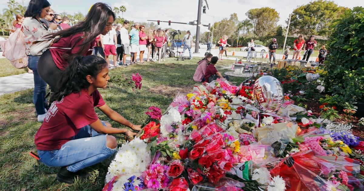 Biden calls for 'commonsense' gun laws on Parkland anniversary | Gun Violence News