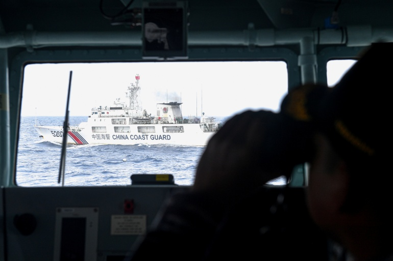 The US warns China could invoke the new law to assert its unlawful maritime claims in the South China Sea [File: Antara Foto/M Risyal Hidayat/Reuters]