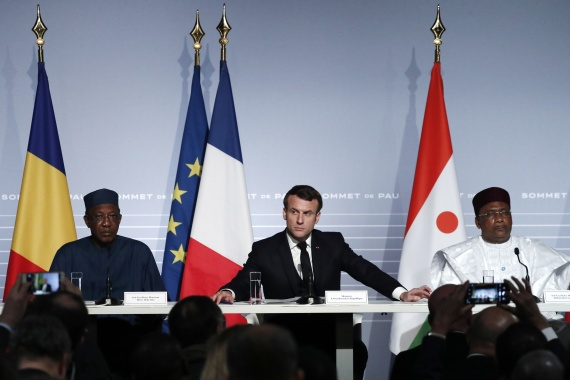 The last major Sahel summit was held a year ago in Pau, France [File: Guillaume Horcajuelo/Pool Reuters]