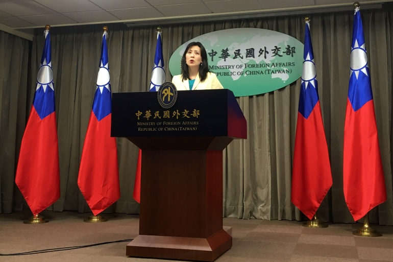 Taiwan's foreign ministry said because of Chinese pressure Guyana had 'unilaterally' decided to back out of the deal, and it expressed deep regret it was unable to get the decision reversed [File: Ben Blanchard/Reuters]