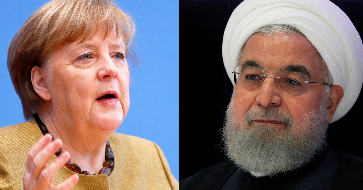 'Positive signals' needed to save JCPOA, Merkel tells Rouhani