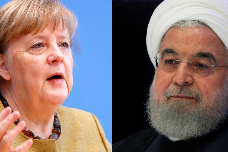 Rouhani also told Merkel his government has no choice but to limit access to international nuclear inspectors next week in accordance with a law passed by the conservative parliament in December [File: Reuters]