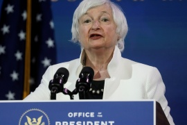 US Treasury Secretary Janet Yellen says it will be years before the country reaches full employment again [File: Leah Millis/Reuters]