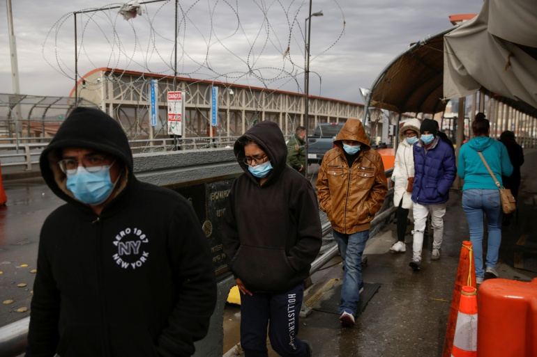 US will turn away most migrants arriving at its border with Mexico