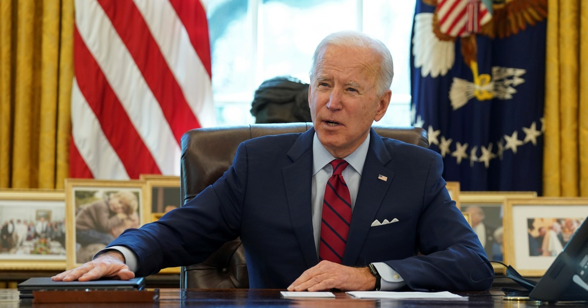 COVID relief bill fight to test Biden's promise of 'unity' thumbnail