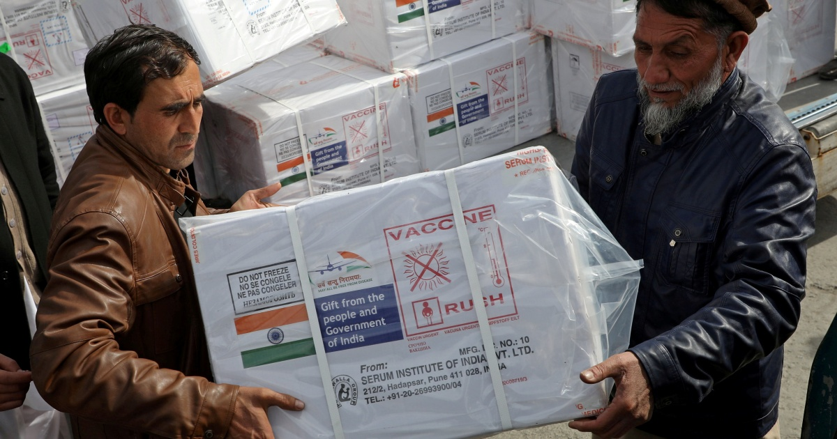2021-02-08 08:41:04 | Afghanistan gets first COVID-19 vaccine shipment from India | Coronavirus pandemic News