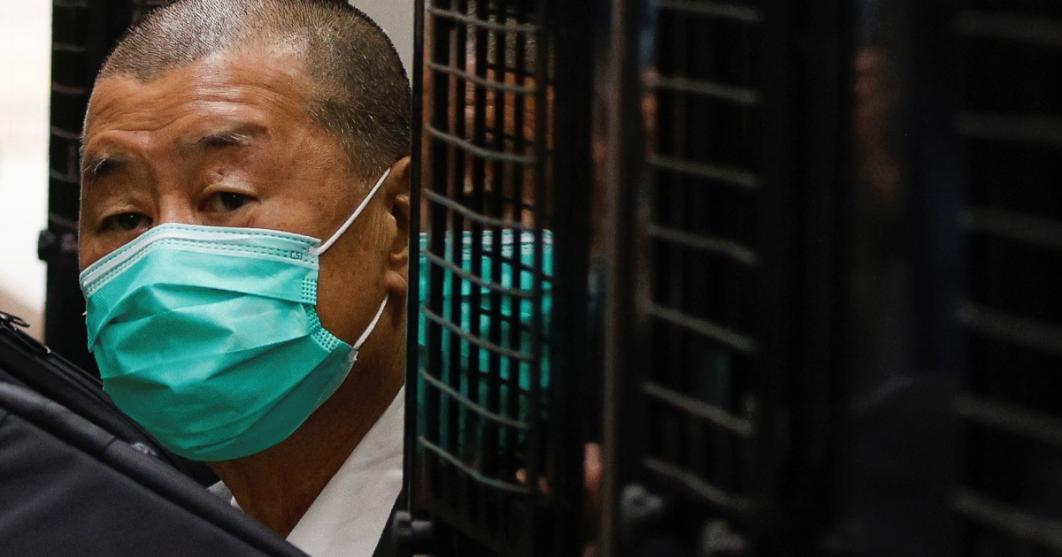 2021-02-18 11:26:47   Hong Kong media tycoon Jimmy Lai denied bail again   Media News