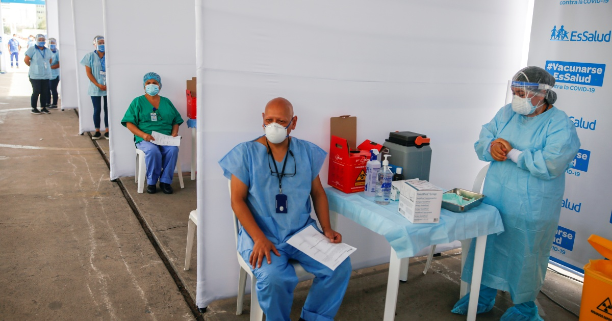 2021-02-13 20:22:31 | Peru swears in new health minister after COVID vaccine scandal | Coronavirus pandemic News
