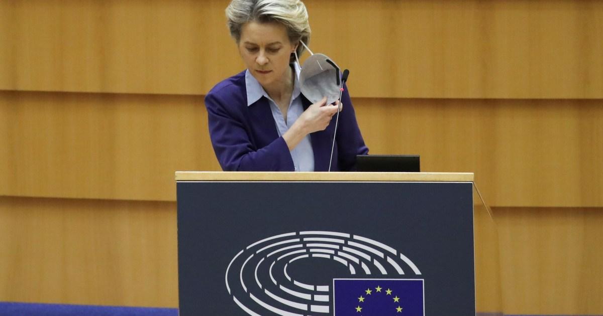EU was late to approve vaccines, von der Leyen admits | Coronavirus pandemic News