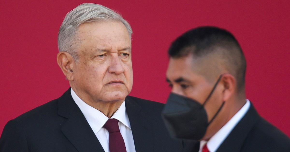 2021-02-13 16:10:04   Mexico's vaccination campaign stalls, AMLO still won't wear mask   Andres Manuel Lopez Obrador News