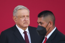 Even after spending two weeks at home with a bout of the coronavirus, President Andres Manuel Lopez Obrador said he will continue not wearing a mask in public [File: Edgard Garrido/Reuters]
