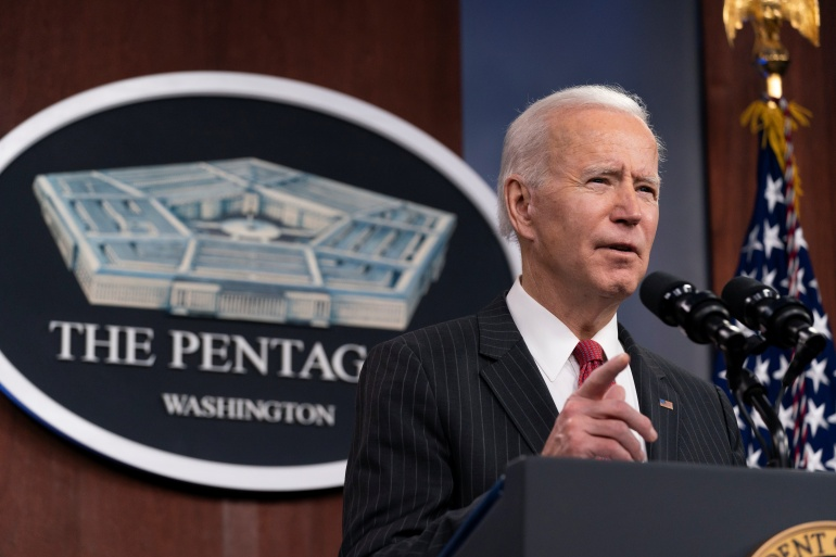 Biden has also voiced concern about Beijing's 'coercive and unfair' trade practices [File: Reuters]