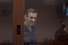 Navalny is accused of slandering a WWII veteran [Press Service of Babushkinsky District Court of Moscow via Reuters]