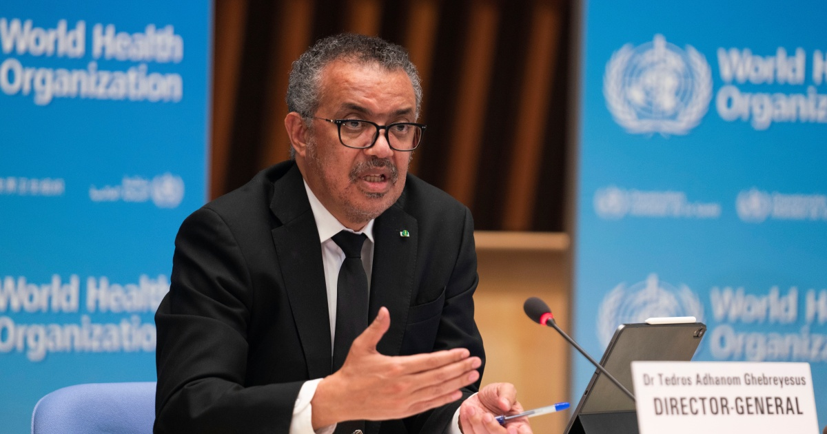 WHO chief urges rich nations not to undermine COVAX scheme