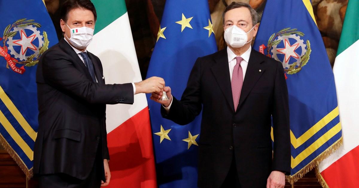 Draghi Italia dilantik sebagai PM di tengah tantangan yang seram thumbnail
