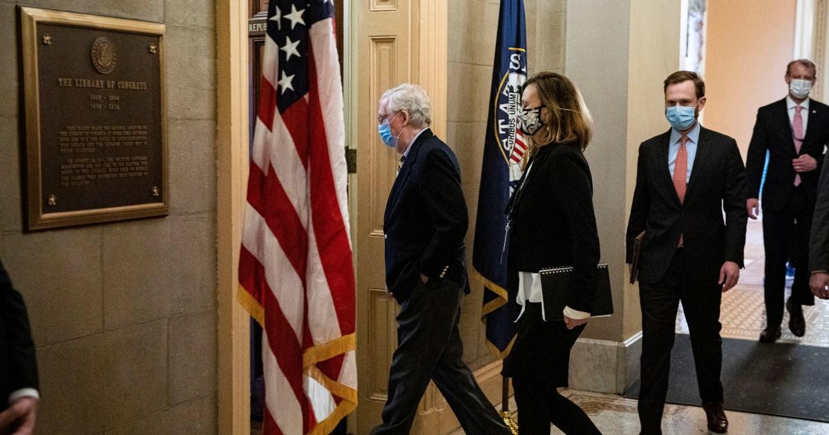 Transcript: Mitch McConnell's Trump impeachment speech