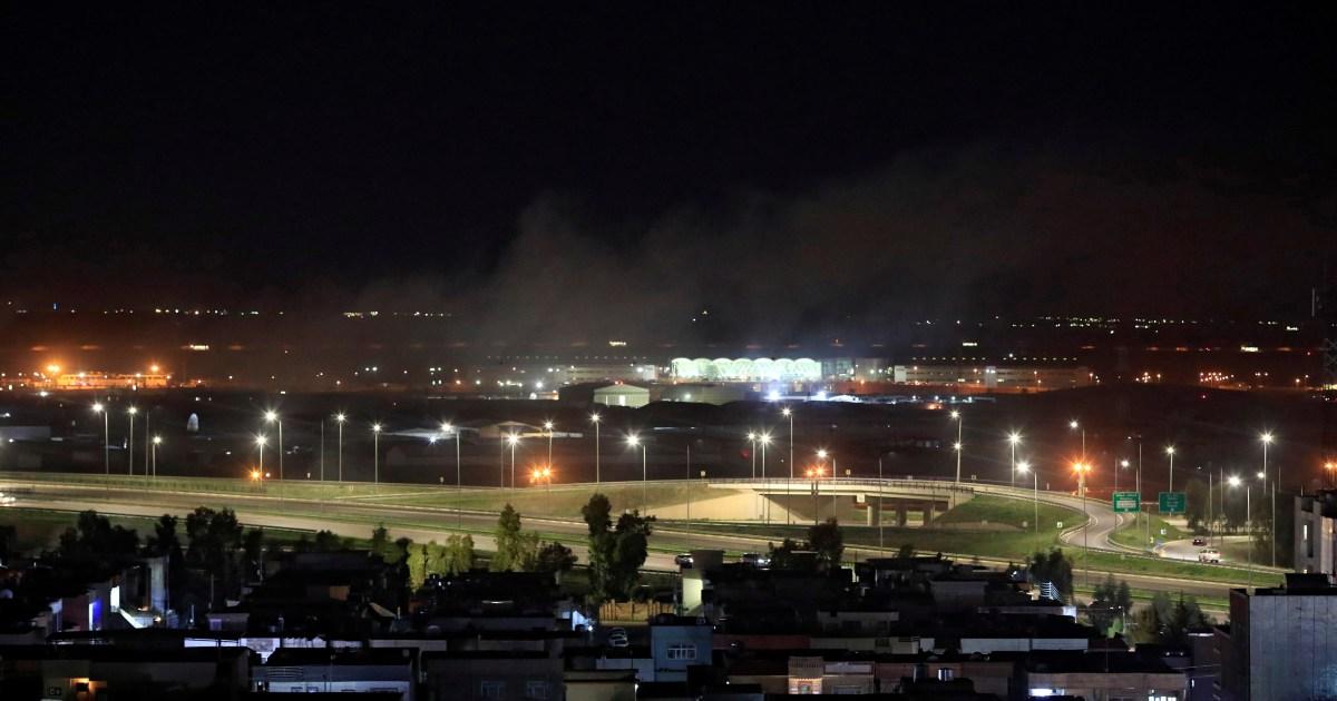Iraq: Rockets land near Erbil airport, US military base